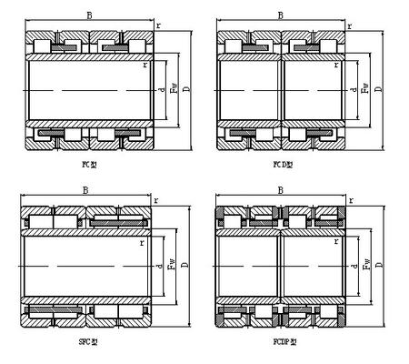 China SL045005PP INA BEARINGS distributor